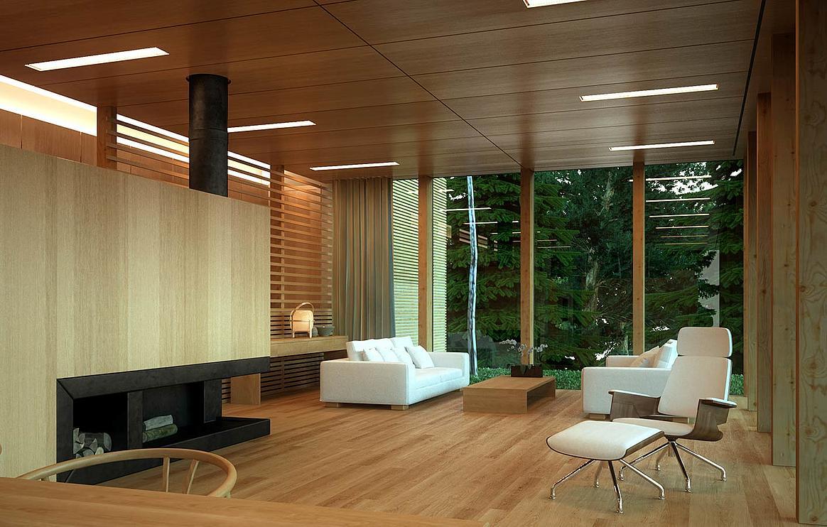 holz boden und decke modern interieur, paneele massivholz holzdecke wand syke kirchweyhe sulingen, Design ideen